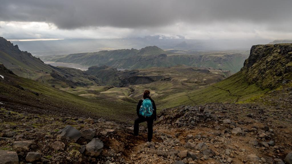Szlak Fimmvörðuháls – Spacer między lodowcami (część 2)